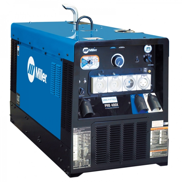 miller engine driven welders equipment wia big blue 400x pro machine