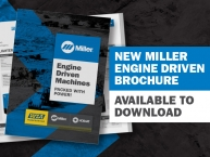 NEW Miller Engine Driven Brochure Available to Download