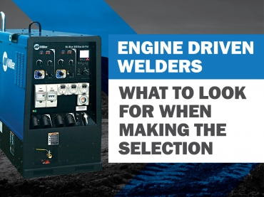 What to look for when selecting the right engine-driven welder.