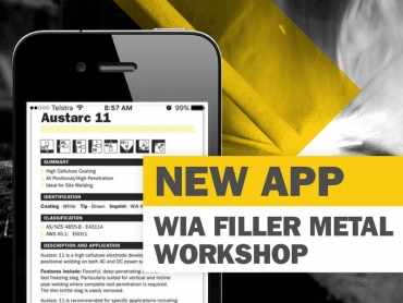 NEW WIA Filler Metal App
