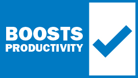 Boosts Productivity