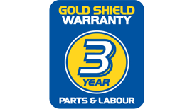 3 Year Gold Shield Warranty