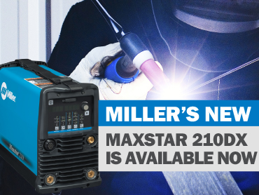 The NEW Miller Maxstar 210DX