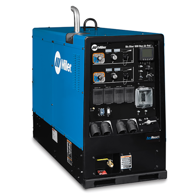 Big Blue 800X Air Pak with ArcReach Machine