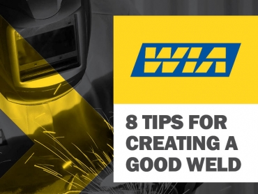 Eight Tips for Creating a Good Weld