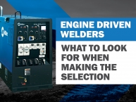 Selecting the Right Engine-Driven Welder