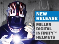NEW Miller Digital Infinity Helmets - Now Available