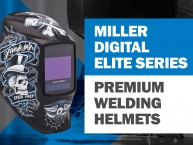 Miller Digital Elite Auto-Darkening Welding Helmets