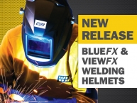 New BlueFX and ViewFX Helmets