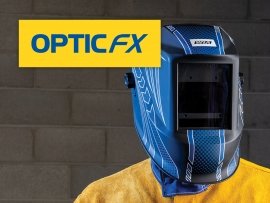 Welding - New WIA OpticFX Auto-Darkening Helmets
