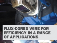 Busting Myths about Flux Cored Wires